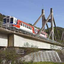 日本の鉄道遺産世界初の鉄道専用斜張橋-三陸鉄道・小本川橋梁-