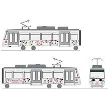 東急世田谷線で9月25日から「幸福の招き猫電車」運転