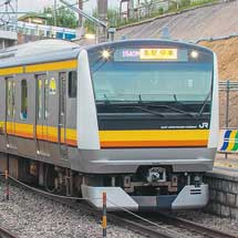 E233系8500番台が『全国新作花火競技大会』の臨時列車に