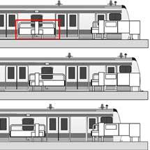 JR東日本,横浜線町田駅に特殊な形状のスマートホームドア®を導入