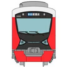 鉄コレ静岡鉄道A3000形(Passion Red)2両セットB