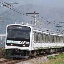 「MUE-Train」が長野総合車両センターから出場