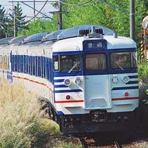 一次新潟色となった115系が営業運転に復帰