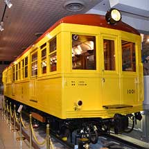 地下鉄博物館所蔵「日本初の地下鉄車両1001号車」が国の重要文化財に指定