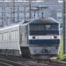東京メトロ13000系第15編成が甲種輸送される
