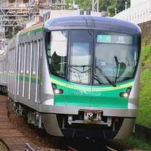 東京メトロ16000系第37編成が営業運転を開始