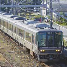 北陸本線で223系による臨時列車運転