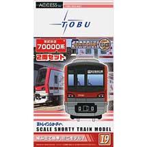 「Bトレインショーティー東武鉄道70000系」発売