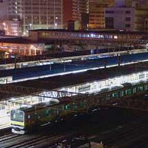 E231系4両が秋田総合車両センターへ