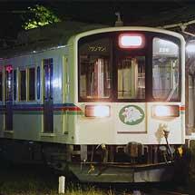 近江鉄道で,災害復旧工事にともなう工事臨時列車が運転される