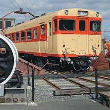 キハ28 2329が転車台で展示される