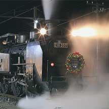 SL「大樹」にクリスマス限定ヘッドマーク