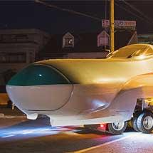 E5系展示用新製先頭車が鉄道博物館へ