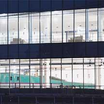 鉄道博物館 E5系が展示場所へ移動