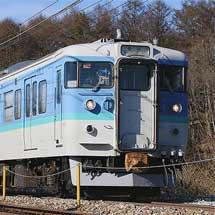 しなの鉄道115系S15編成が長野色に