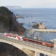 三陸鉄道で「こたつ列車」の運転が始まる
