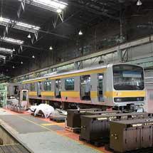 首都圏を走るE231系の機器更新工事と転用改造工事を担当するJR東日本 青森改造センター