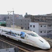 九州新幹線で大河ドラマ「西郷どん」ラッピング列車の運転開始