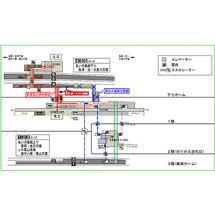 あいの風とやま鉄道,富山駅旅客通路を1月13日に切り替え