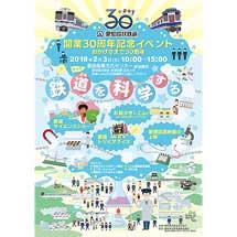 2月3日愛知環状鉄道「開業30周年記念イベント〜鉄道を科学する〜」開催