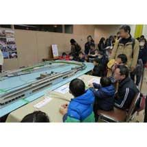 2月10日〜2月12日バンドー神戸青少年科学館「第22回 鉄道模型と遊ぼう」開催